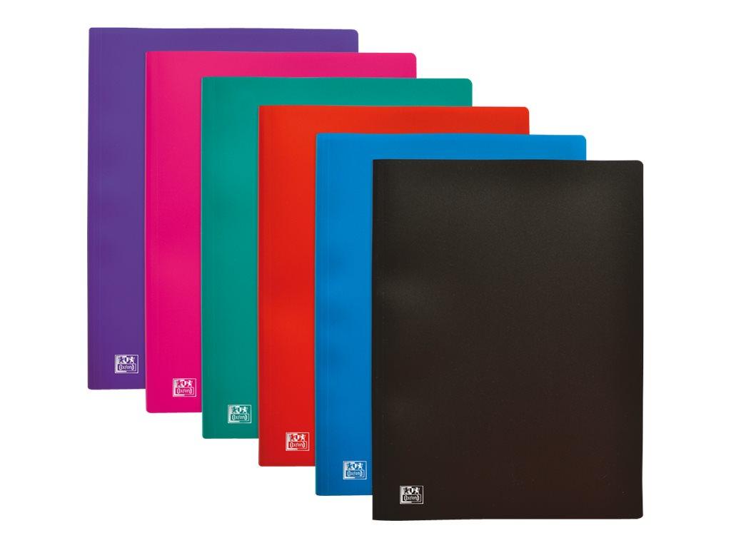 Initial - Porte vues - 80 vues - A4 - disponible dans différentes couleurs