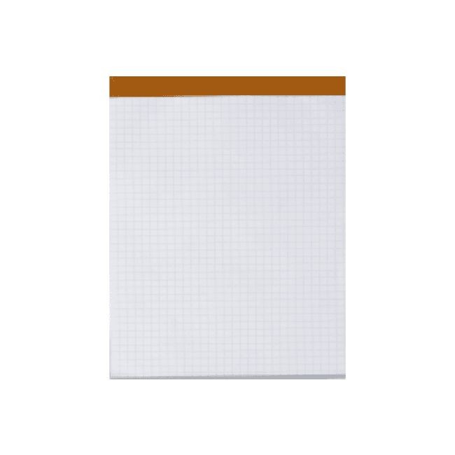 Hamelin - Pack de 5 Blocs notes détachables - A4 - 200 pages - petits carreaux