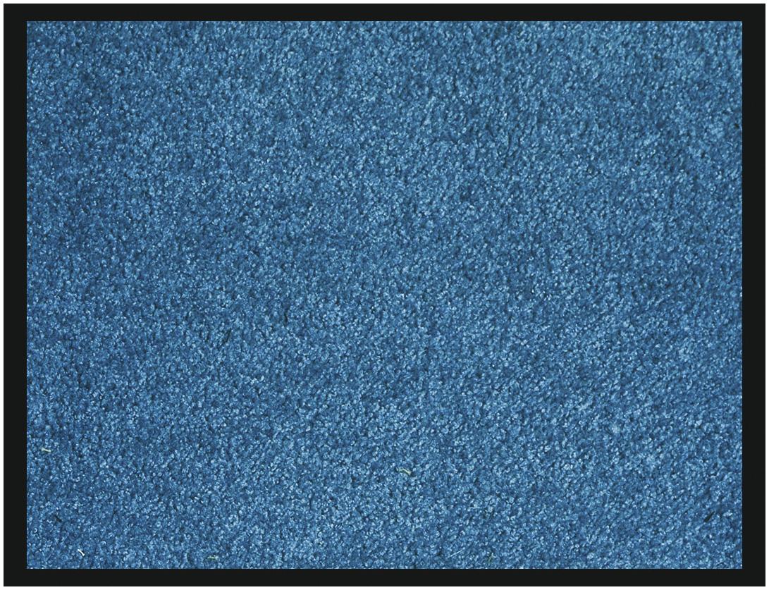 Tapis de sol absorbant RAINBOW - 40 x 60 cm - en polyamide - bleu