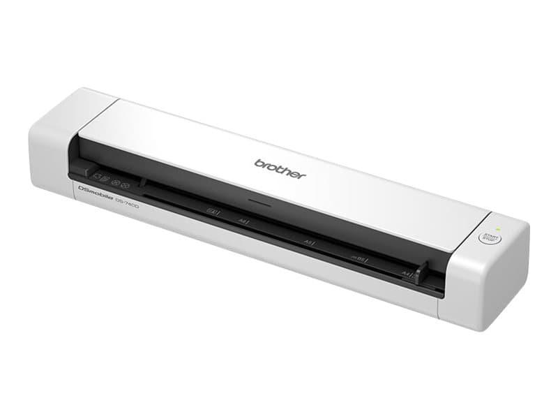 Brother DSmobile 740D - scanner de documents A4 - portable - USB 3.0 - 300 ppp x 300 ppp - 15ppm