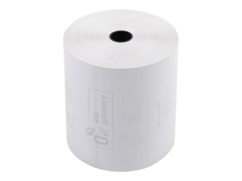 Exacompta - 30 Bobines caisses - papier thermique 80 x 80 x 12 mm - sans Bisphénol A - 85 m