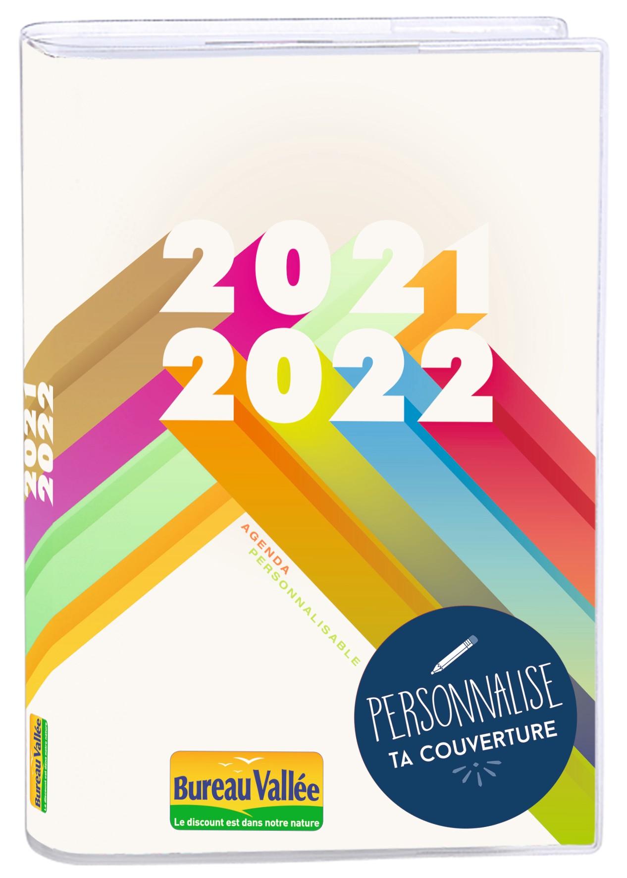 Agenda personnalisable Exclusivité Bureau Vallée - 1 jour par page - 12,5 x 17,5 cm