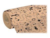 Clairefontaine Kraft - papier cadeau - 1 rouleau(x)