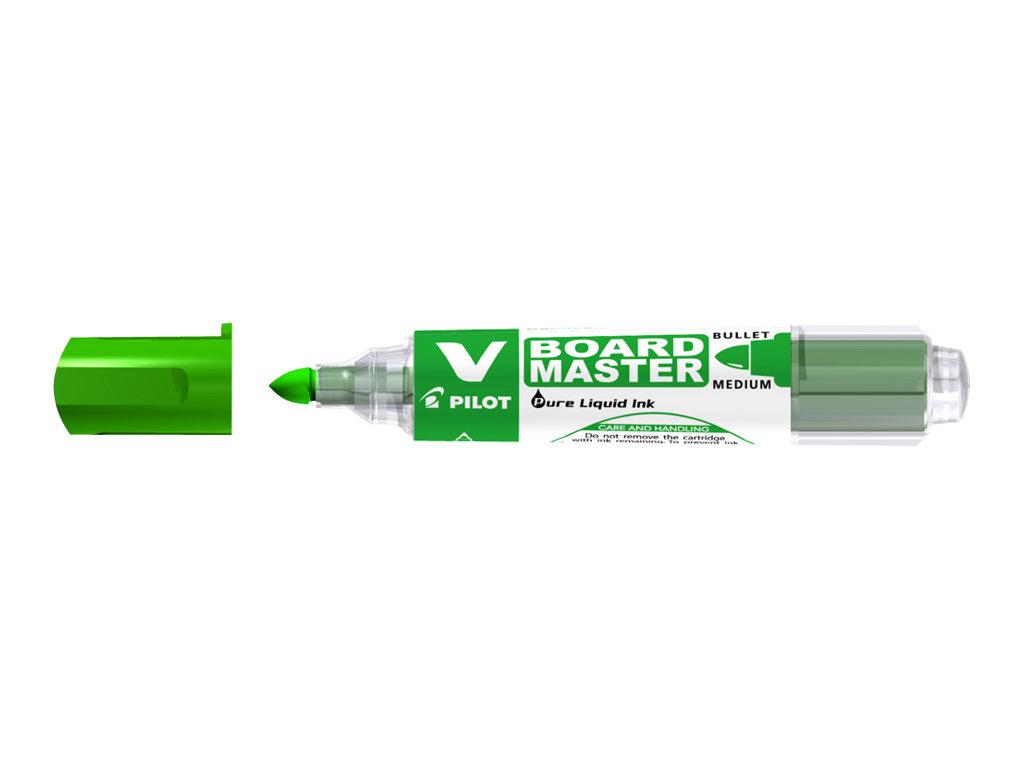 Pilot V BOARD MASTER - Marqueur effaçable - pointe ogive - vert