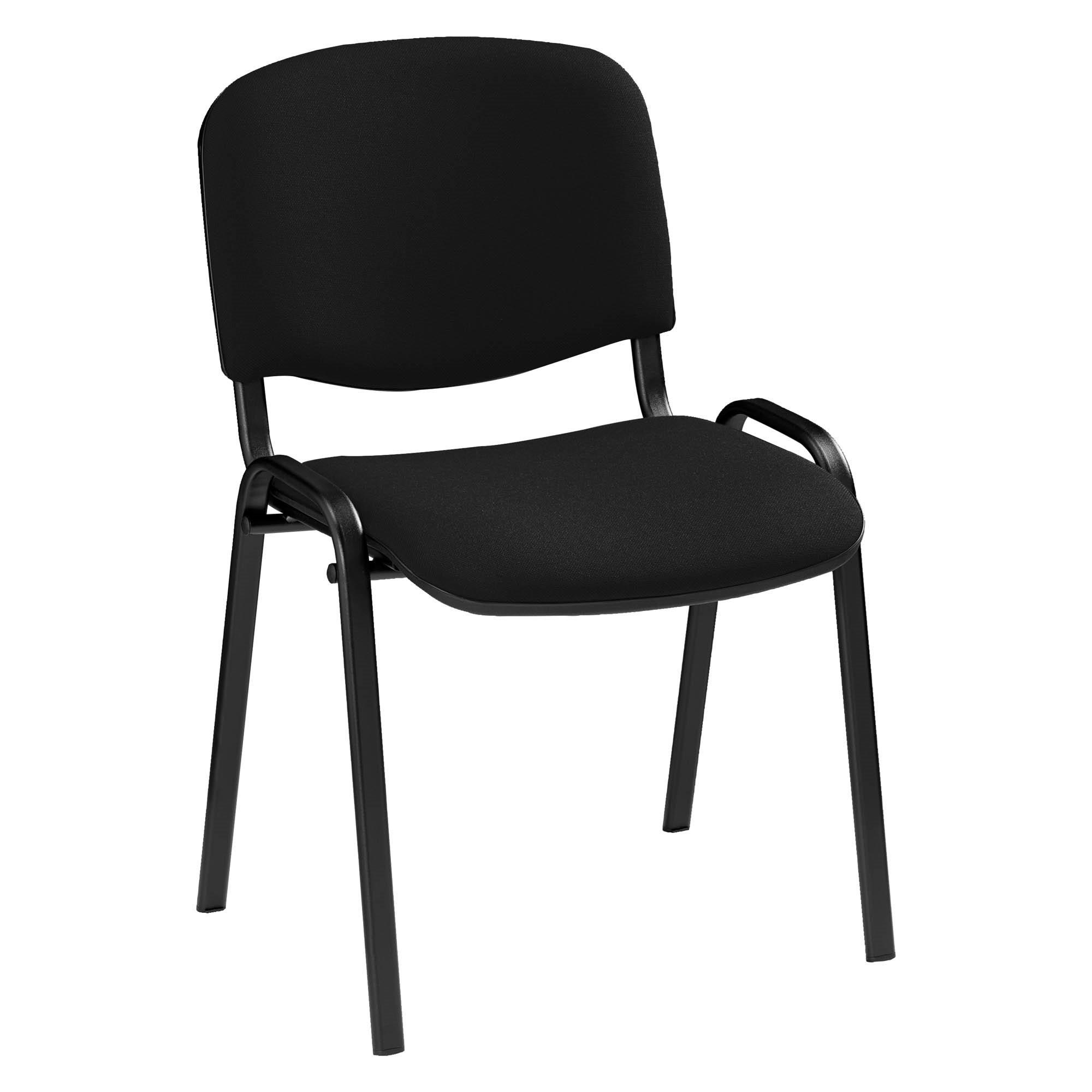 Chaise DOLLY - tissu noir