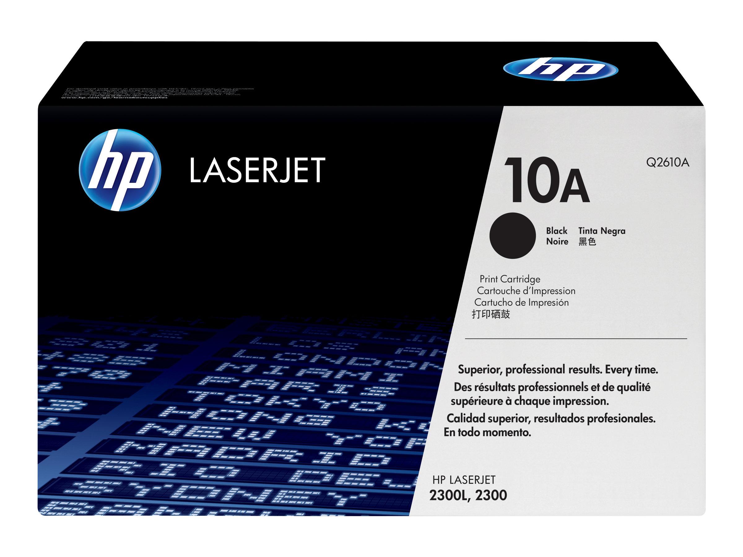 HP 10A - noir - cartouche laser d'origine