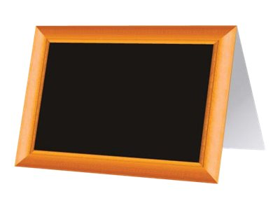 Bequet - 10 Chevalets de table - 7 x 5 cm - cadre faux bois