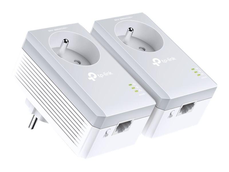 TP-LINK TL-PA4015PKIT - Kit de 2 CPL AV600 avec prise intégrée