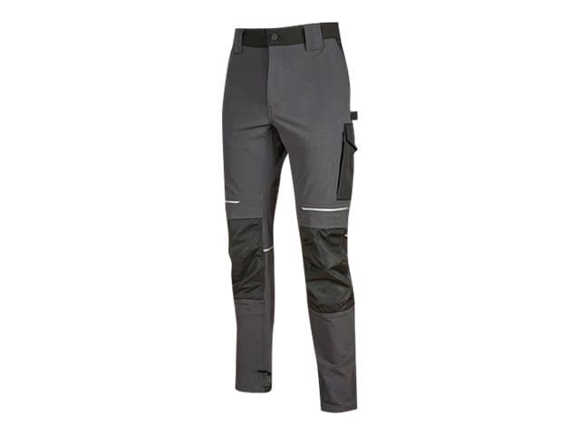 Pantalon multipoches gris - Taille S - Atom U-Power