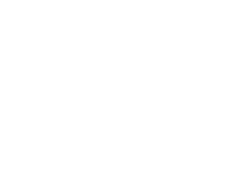 Pickup Déco Zoé - Étiquette autocollante 110 mm - Chiffre 5 - blanc