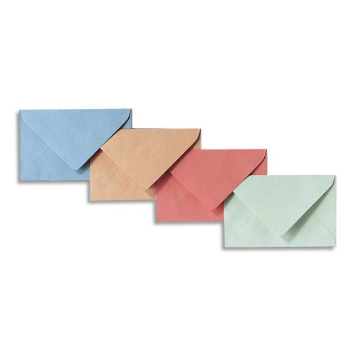 GPV - 500 Enveloppes élection recyclées - 90 x 140 mm - 80 gr - bleu