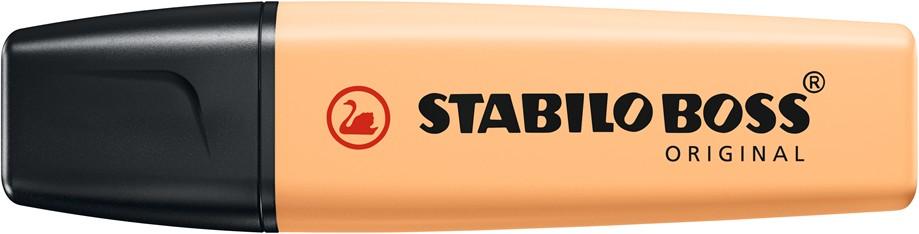 STABILO BOSS ORIGINAL Pastel - Surligneur - sorbet abricot