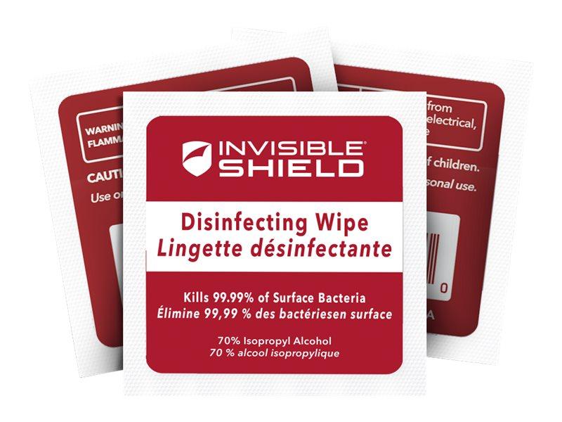 ZAGG InvisibleShield - 10 Lingettes désinfectantes