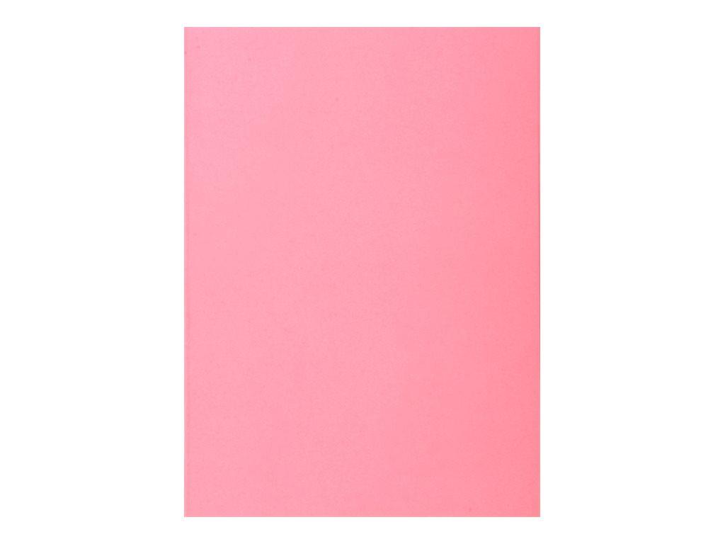 Exacompta Super 60 - 100 Sous-chemises - 60 gr - pour 100 feuilles - rose
