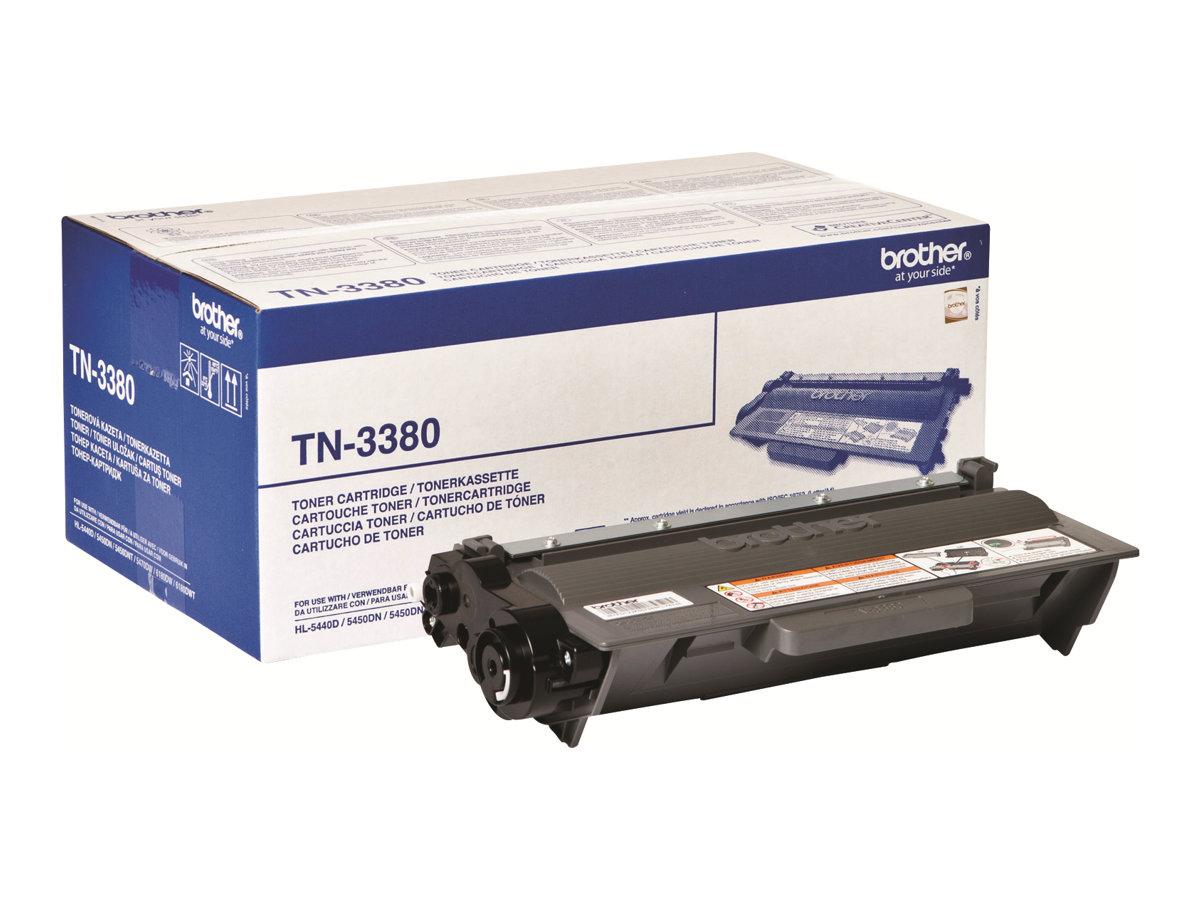 Brother TN3380 - noir - cartouche laser d'origine
