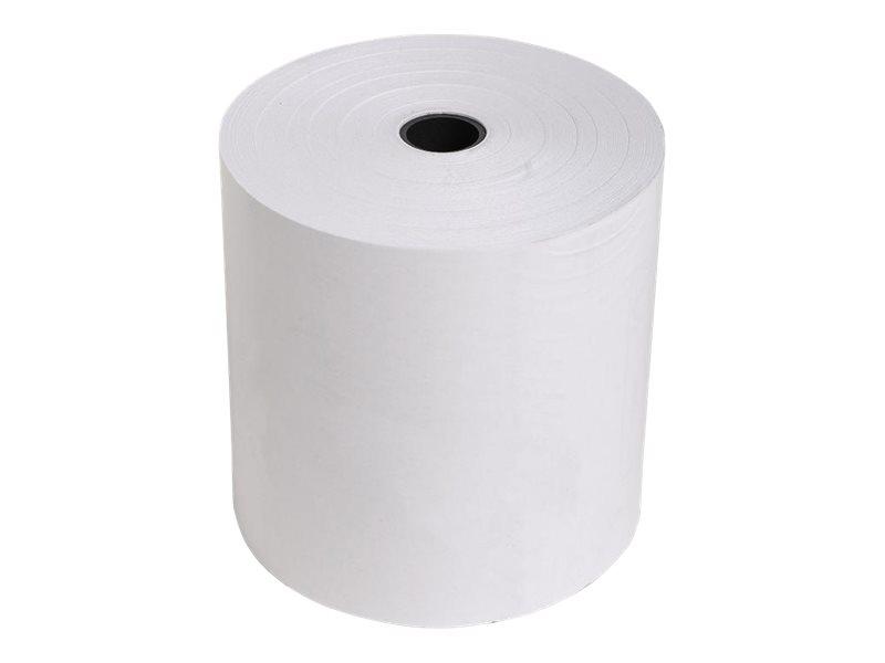 Exacompta - 50 Bobines caisses - papier thermique 80 x 80 x 12 mm - sans Bisphénol A - 76 m