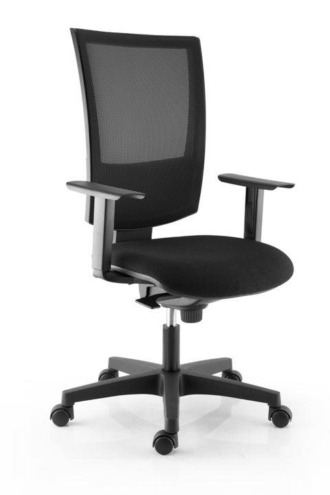 Paire d'accoudoirs réglables en hauteur pour fauteuil KILIMA - noir