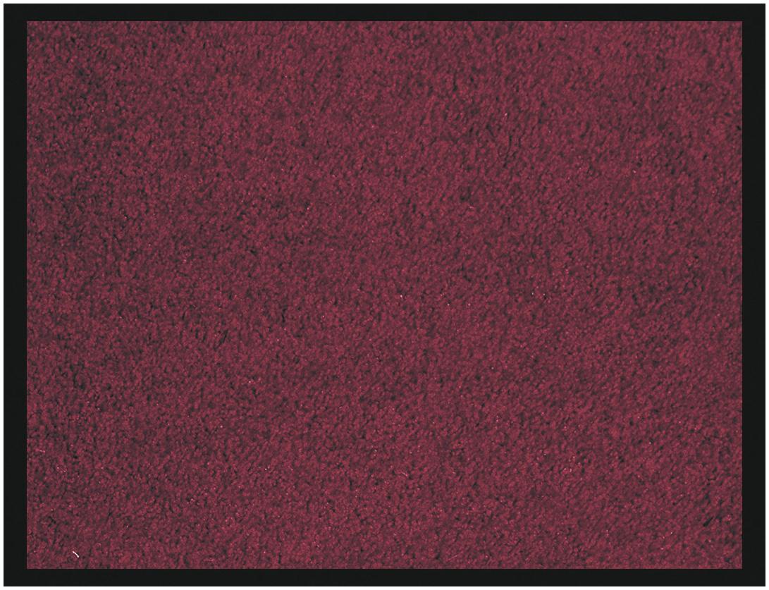 Tapis de sol absorbant RAINBOW - 40 x 60 cm - en polyamide - bordeaux