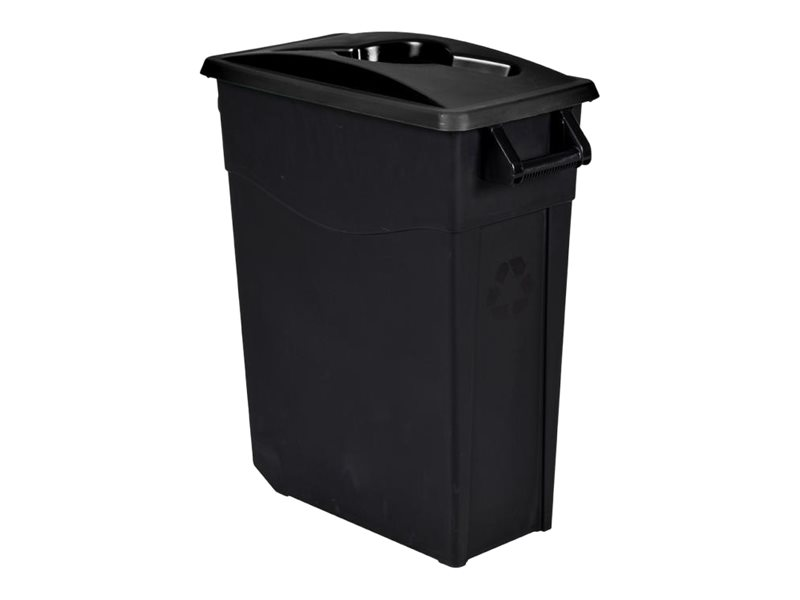 Rossignol MOVATRI - Poubelle de tri mobile 65L - noir