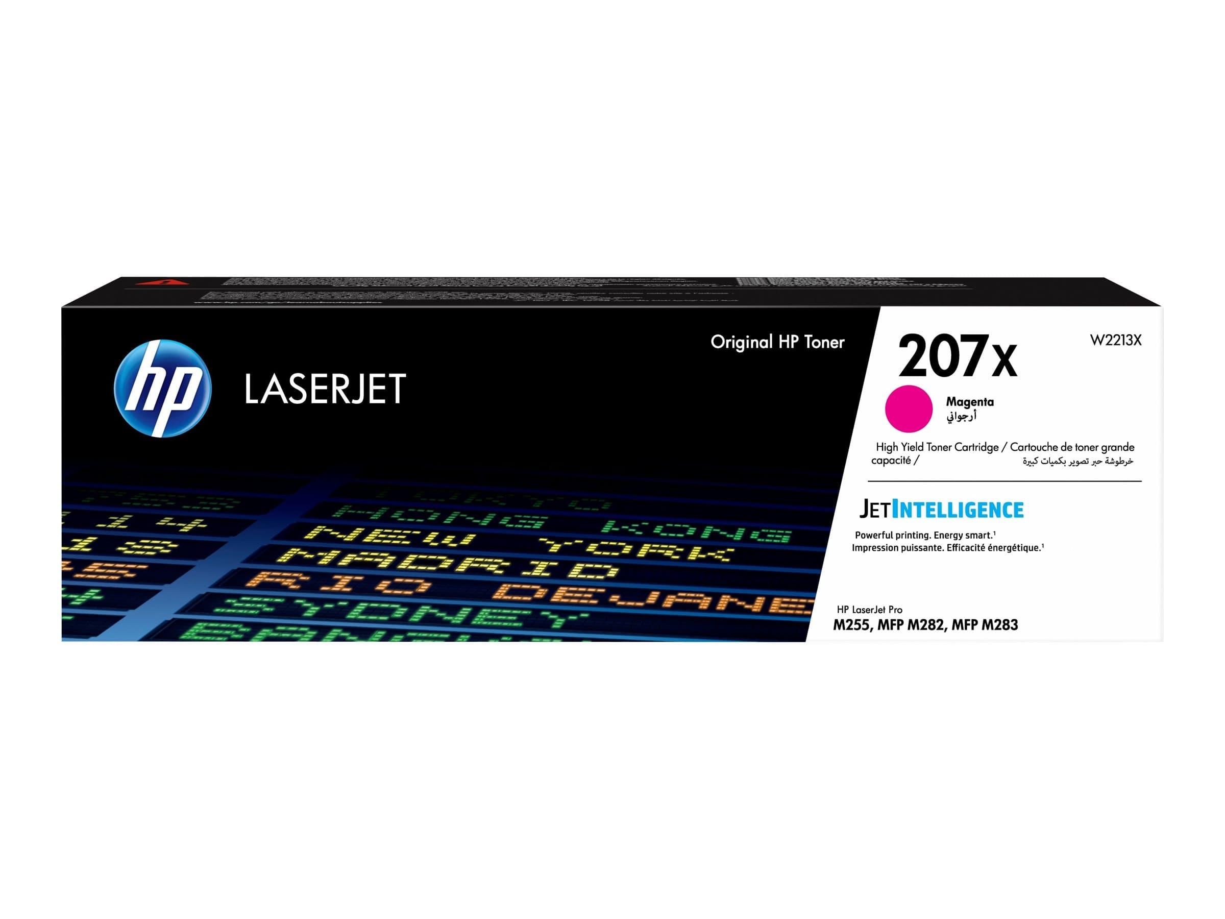 HP 207X - magenta - cartouche laser d'origine