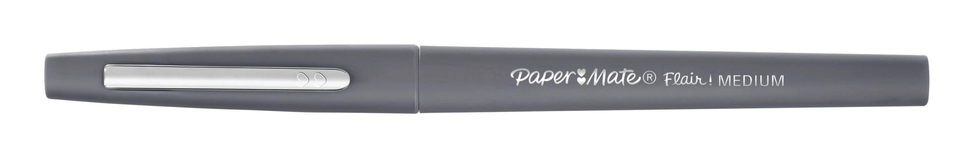 Paper Mate Flair Original - Feutre fin - pointe moyenne - gris