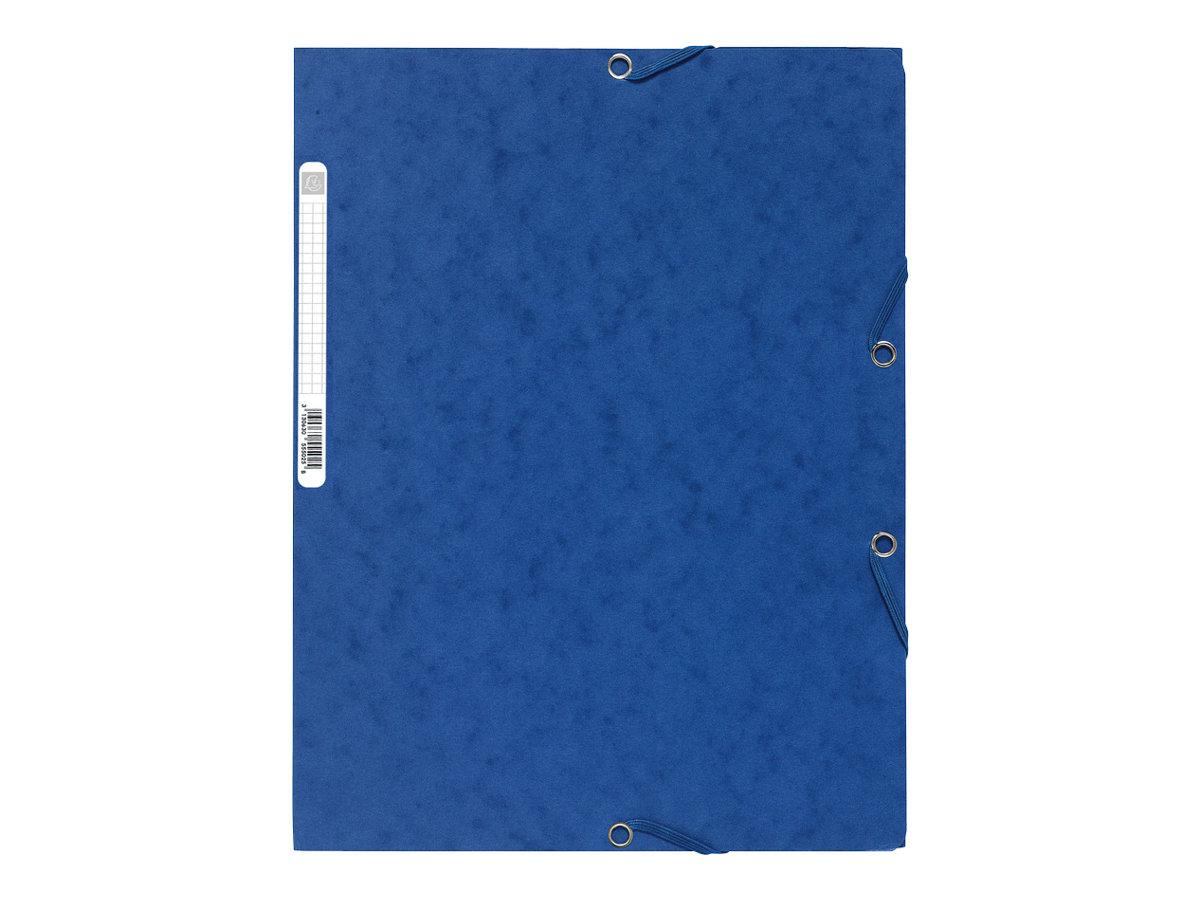 Exacompta Nature Future - Chemise à 3 rabats - A4 - pour 250 feuilles - bleu
