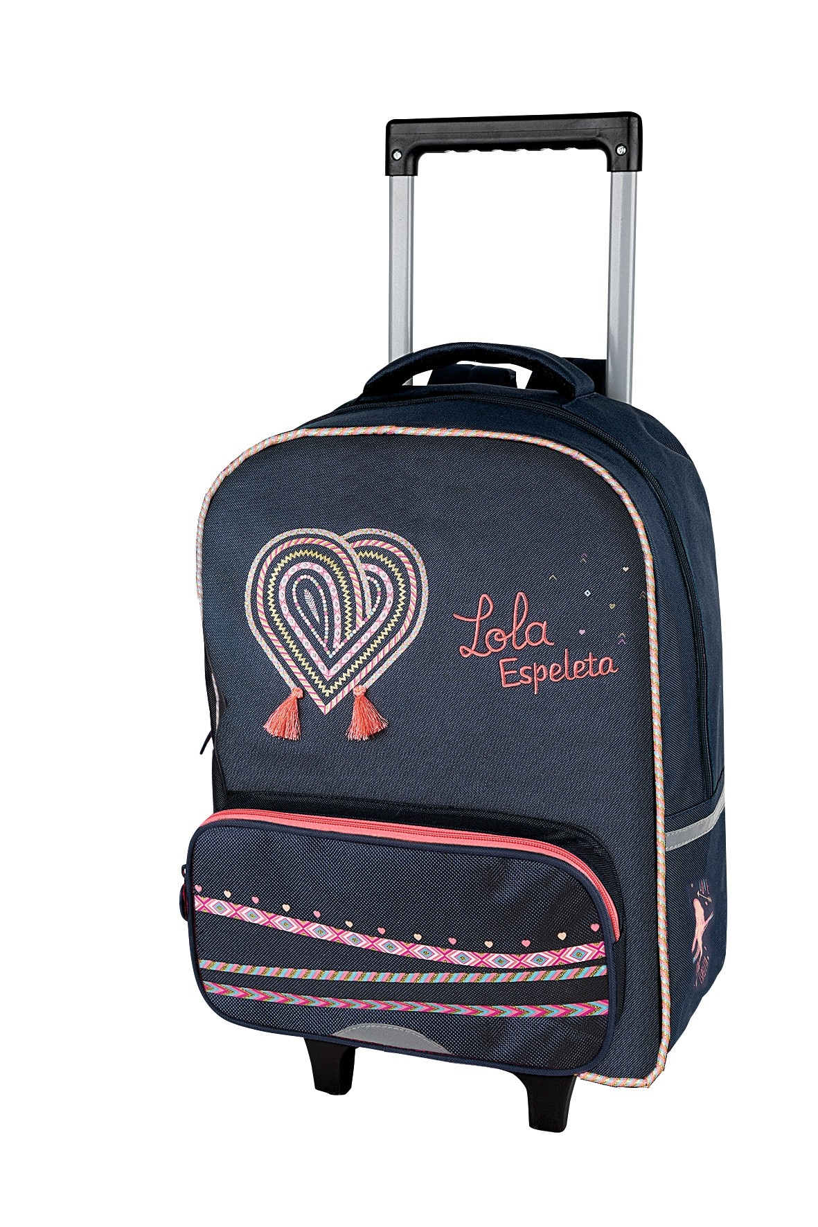 Lola Espeleta - Sac à dos à roulettes - 1 compartiment - Exclusivité Bureau Vallée - Oberthur