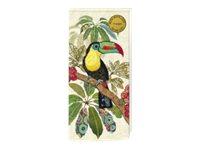 Bug Art - Bloc notes/to do list aimanté - 75 pages - toucans