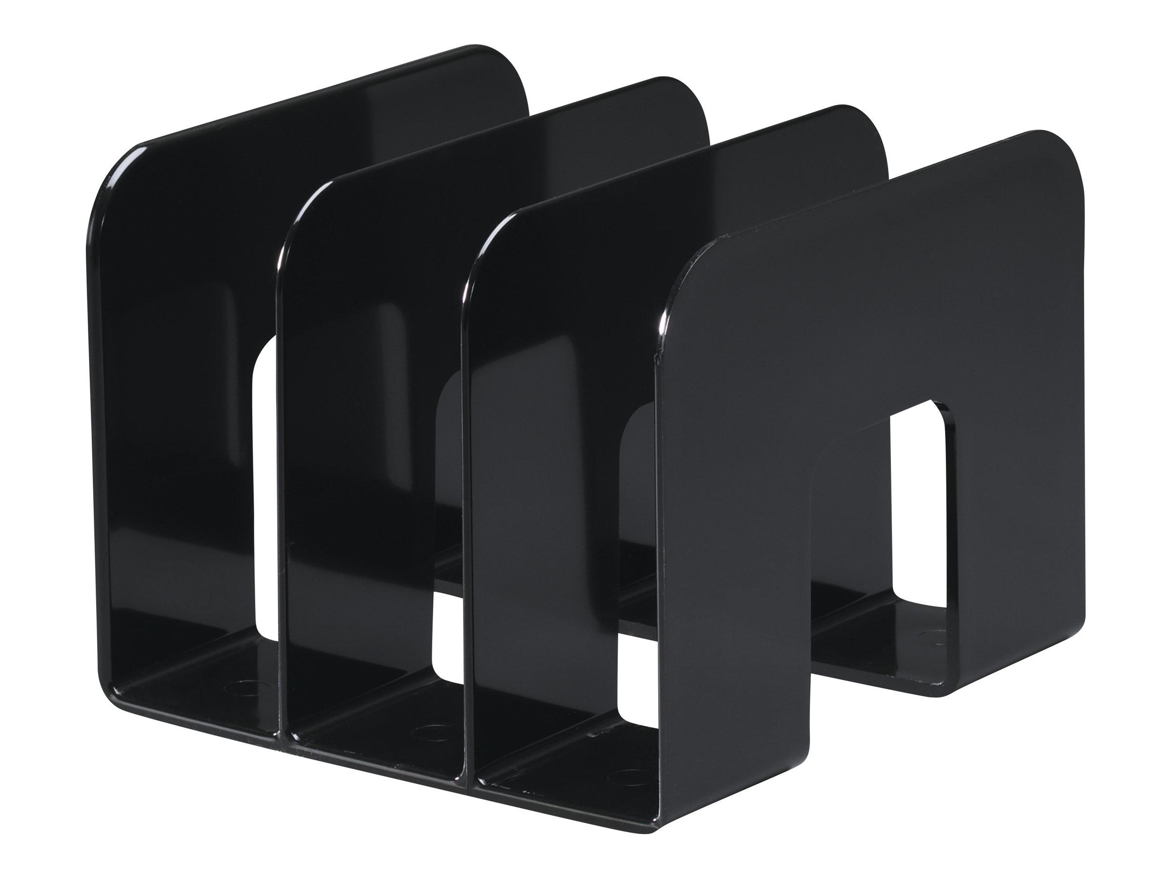 Durable Trend - Porte catalogues 3 compartiments - noir
