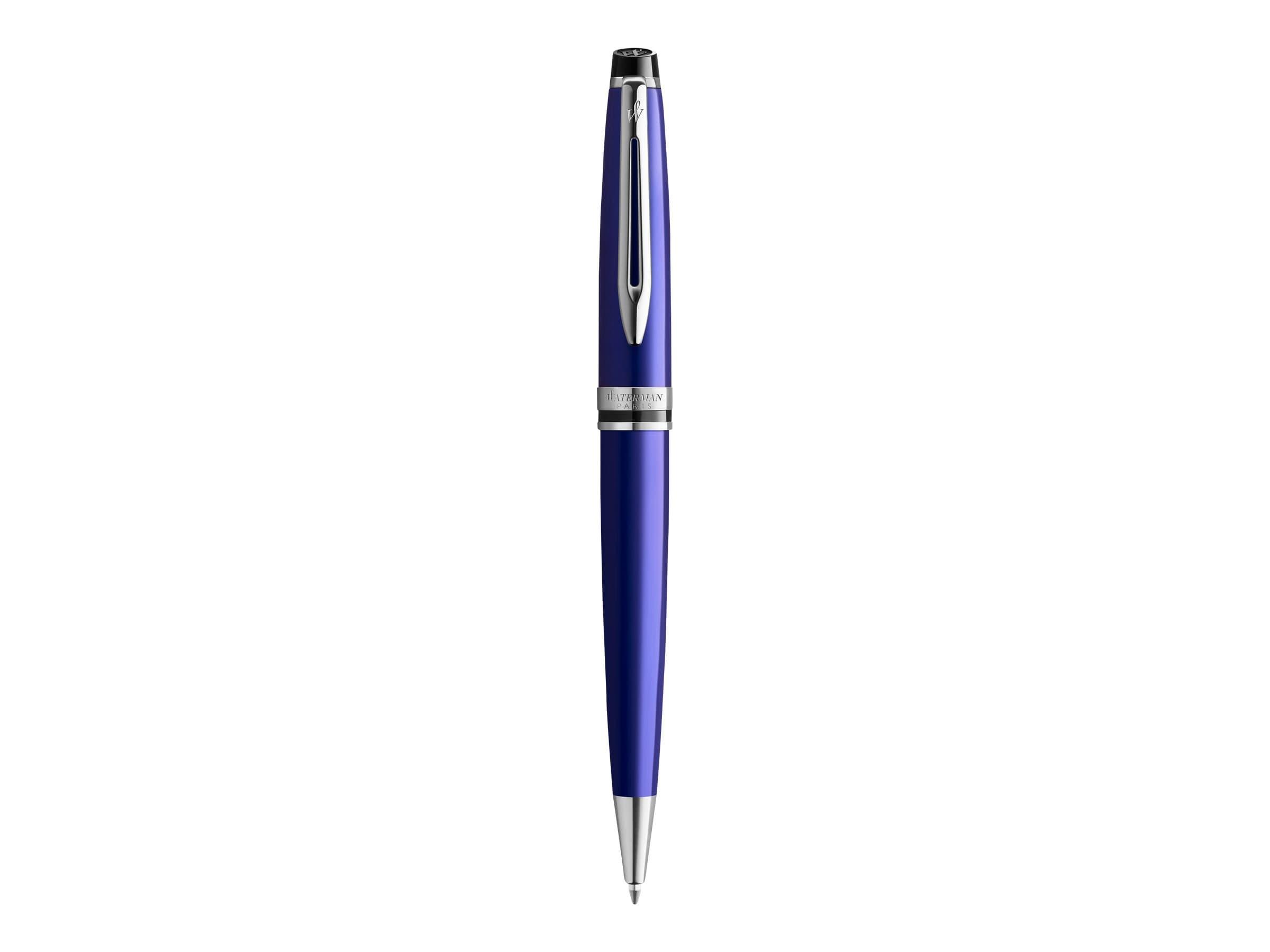 Waterman Expert - Stylo à bille bleu - pointe moyenne