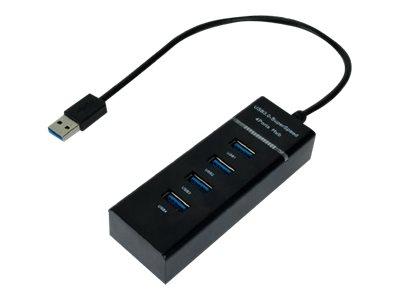 MCL Samar - Hub 4 ports USB 3.0 - noir