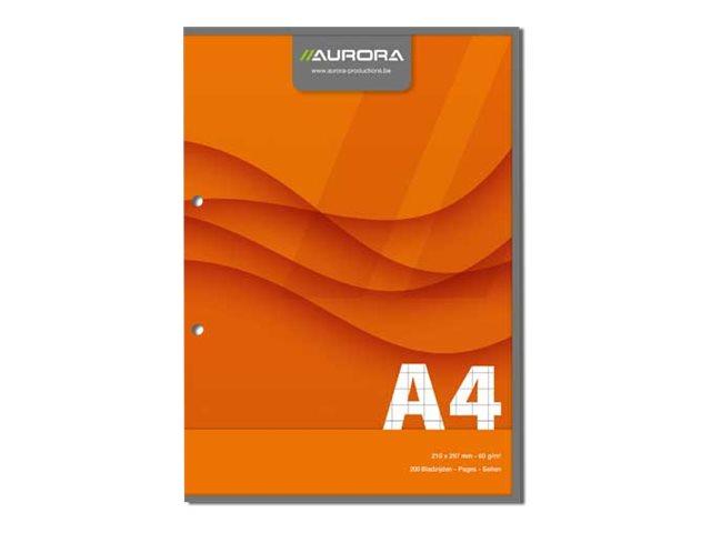 Hamelin - Bloc de cours Direction - A4 - 200 pages - petits carreaux - 56gr