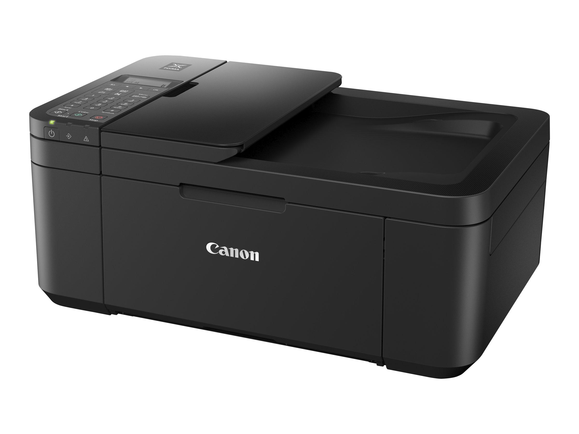 Canon PIXMA TR4550 - imprimante multifonctions jet d'encre couleur A4 - Wifi, USB - recto-verso  - noir