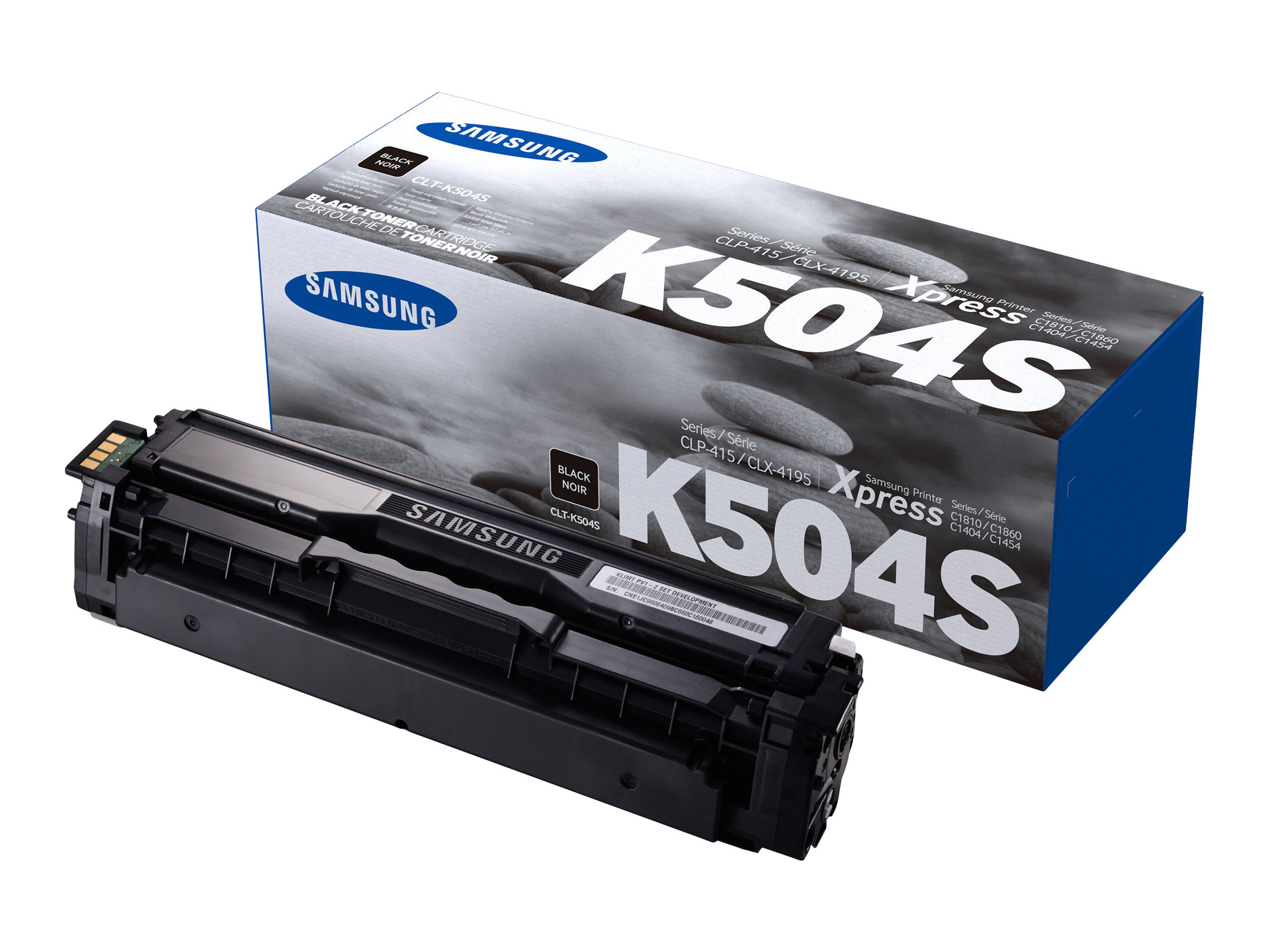 Samsung CLT-K504S - noir - cartouche laser d'origine