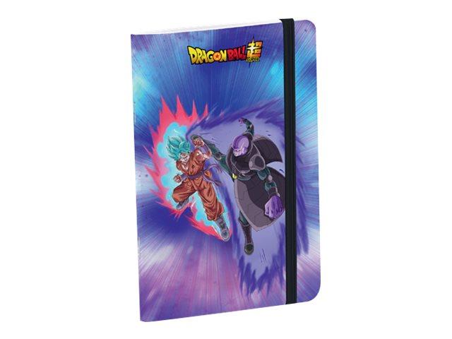 Dragon Ball - Carnet à élastique 11 x 17 cm - 96 pages - ligné - Clairefontaine
