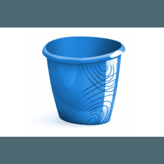 Corbeille à papier. bleu océan - Bleu