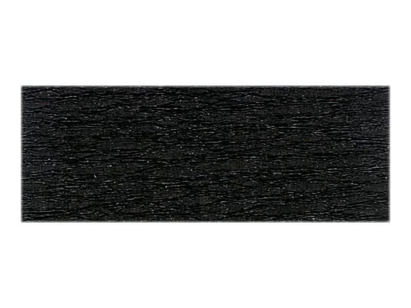 Clairefontaine Premium - Papier crépon - Rouleau 50 cm x 2,5 m - 40 g/m² - noir