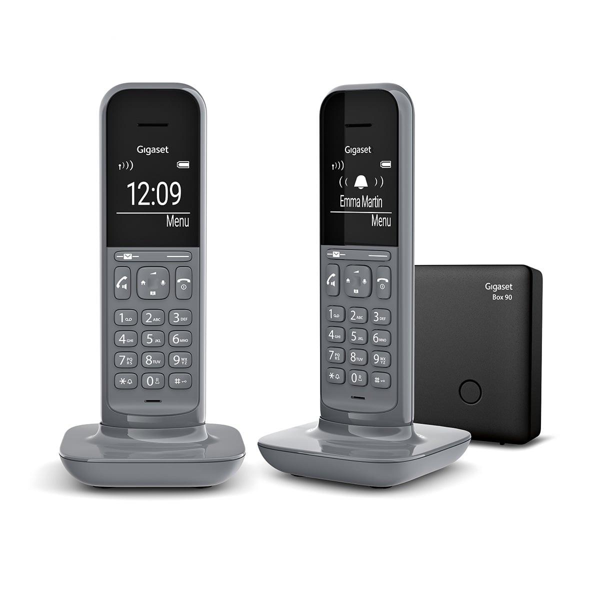 Gigaset CL390 Duo - téléphone sans fil  + combiné supplémentaire - gris