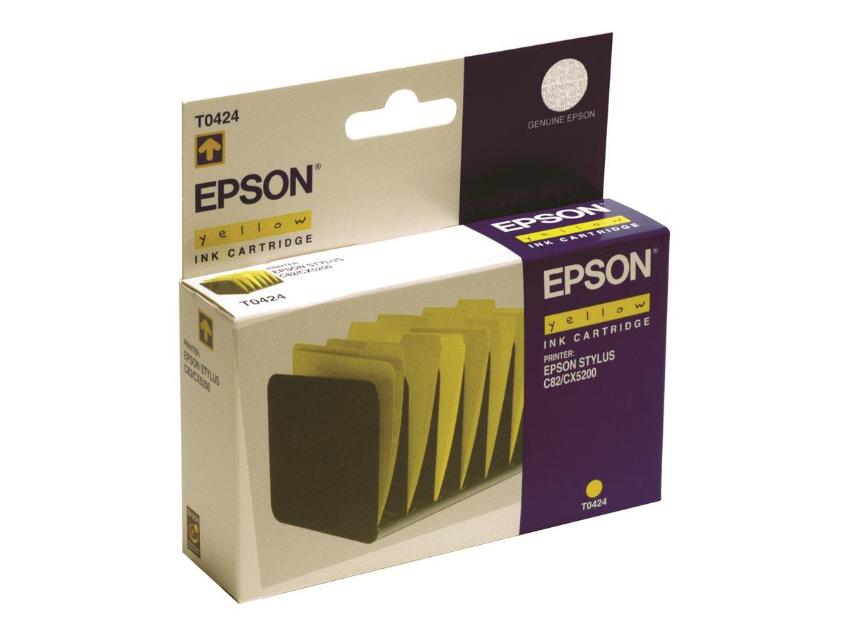 Epson T0424 Intercalaires - jaune - cartouche d'encre originale