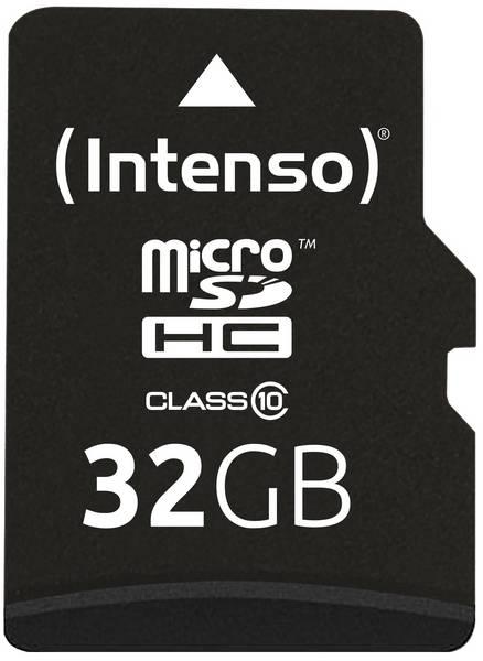 Intenso - carte mémoire 32 Go - Class 10 - micro SDHC