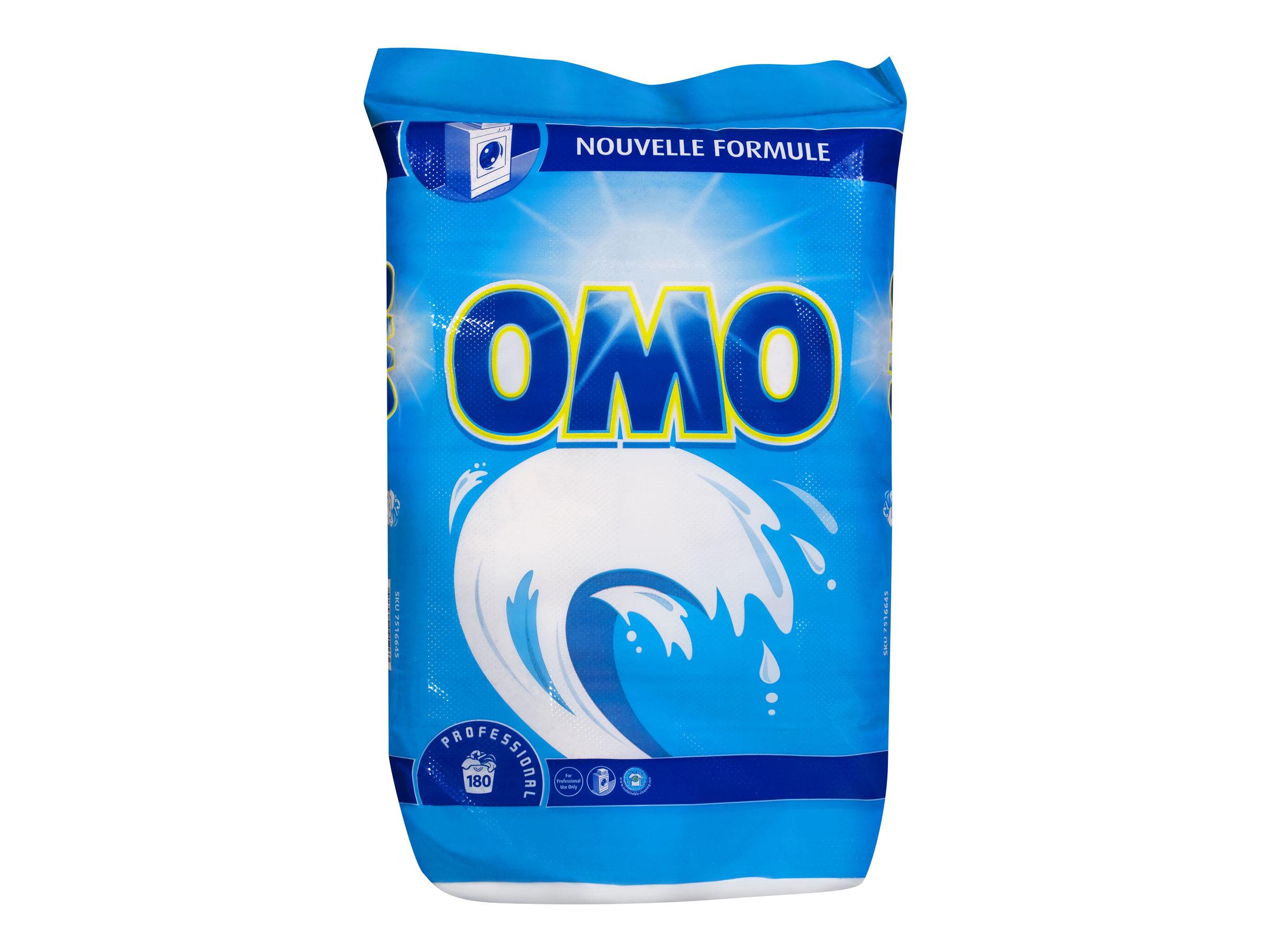 Omo Professional - Lessive en poudre 180 lavages