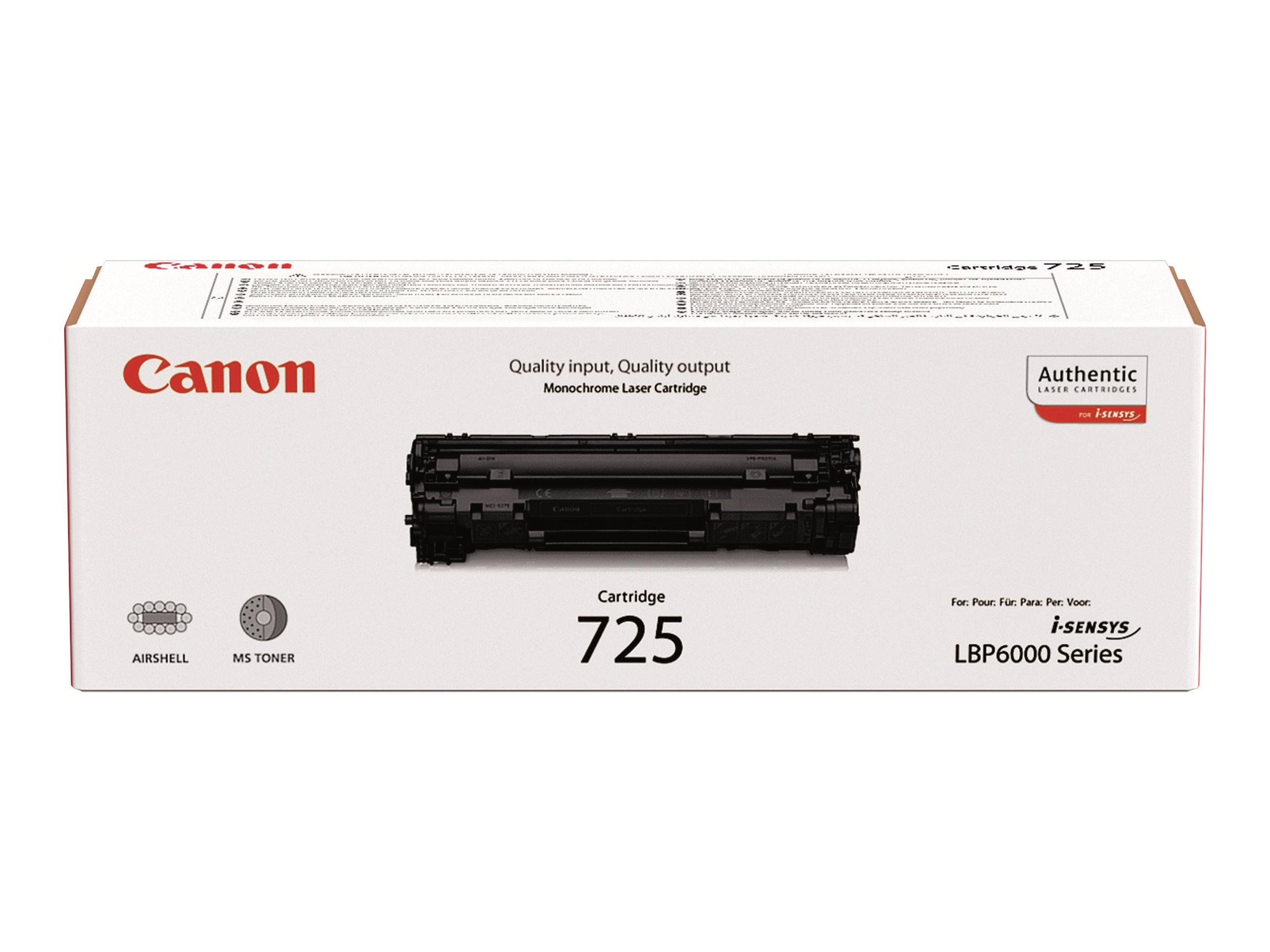 Canon 725 - noir - cartouche laser d'origine