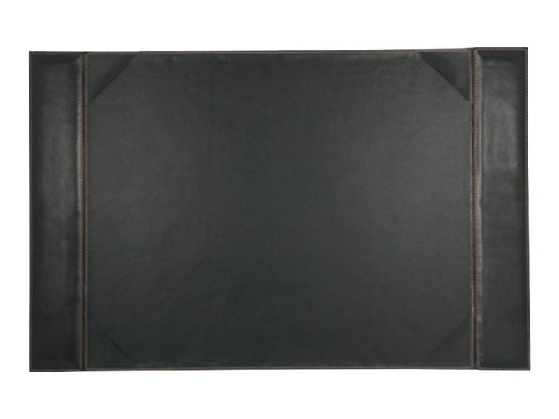 Carpentras Sign Elyane - Sous-main faux cuir - 45 x 70 cm - noir