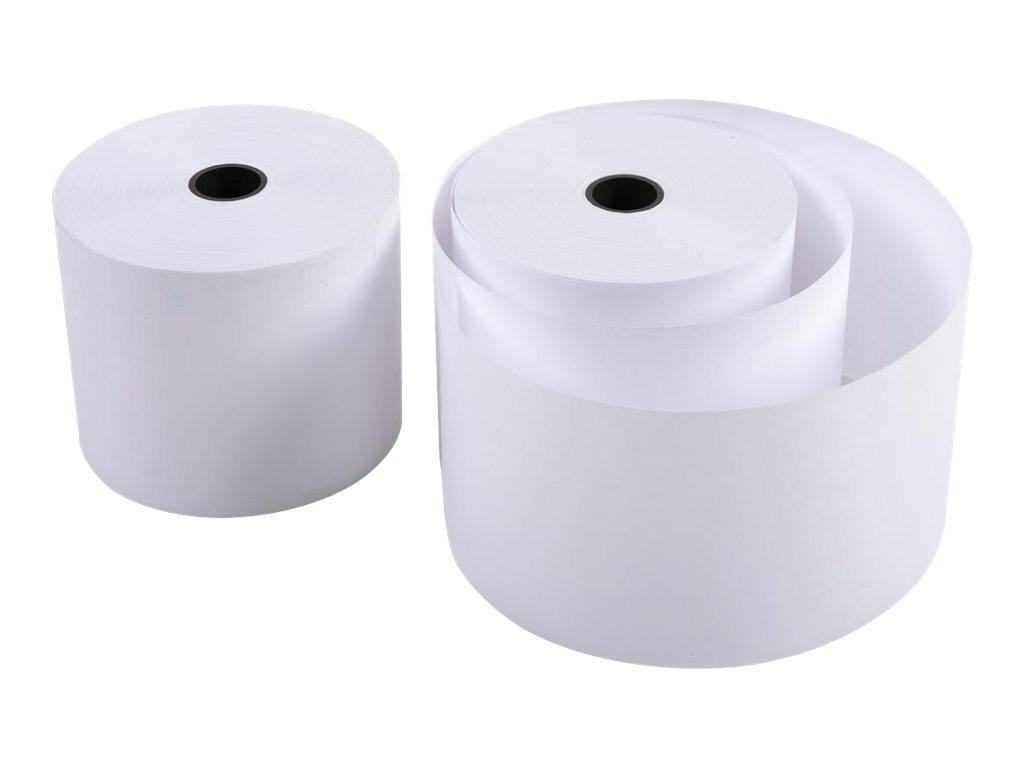 Exacompta - 10 Bobines caisses et calculatrices - papier offset 57 x 70 x 12 mm - 47 m