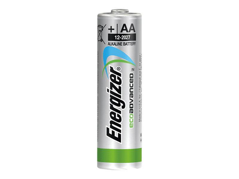 Energizer EcoAdvanced batterie 4 x type AA Alcaline