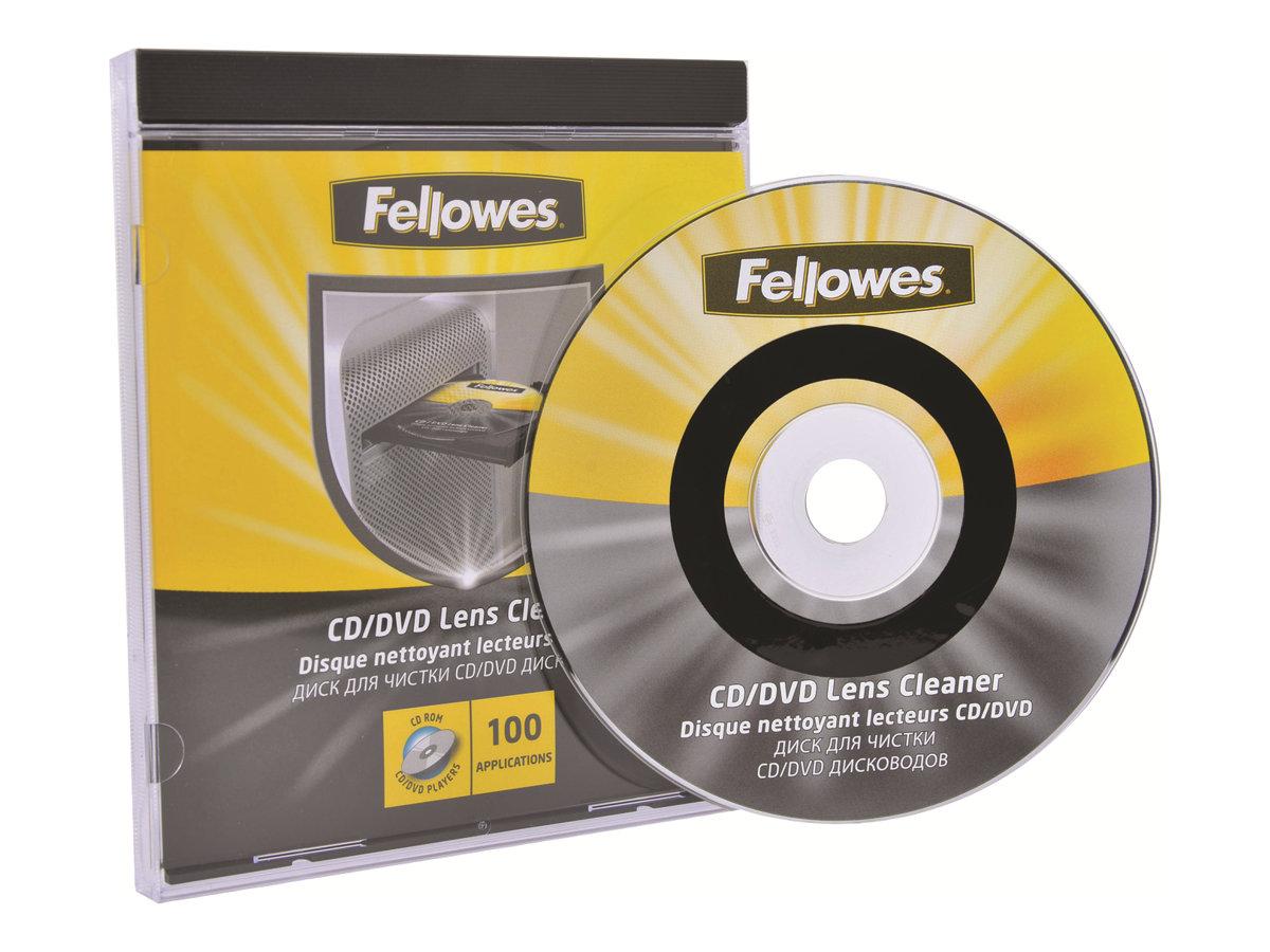 Fellowes - disque de nettoyage pour CD/DVD