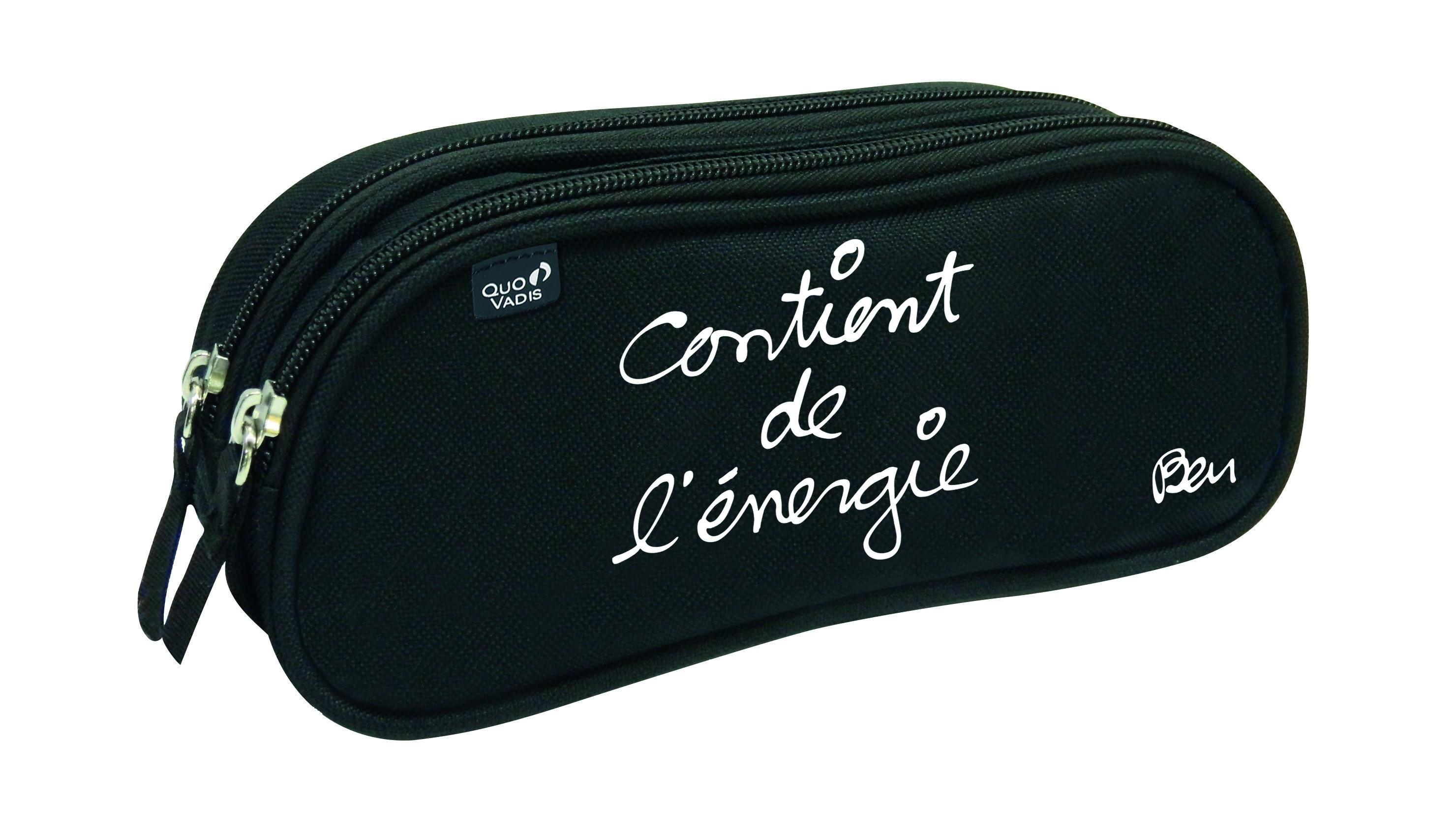 Ben - Trousse 2 compartiments - différents modèles disponibles - Quo Vadis