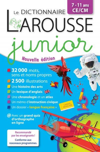 Larousse Dictionnaire Junior 7-11 ans