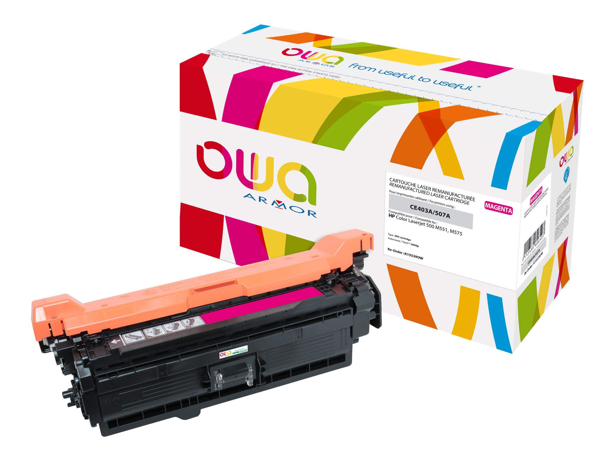 HP 507A - remanufacturé Owa K15539OW - magenta - cartouche laser