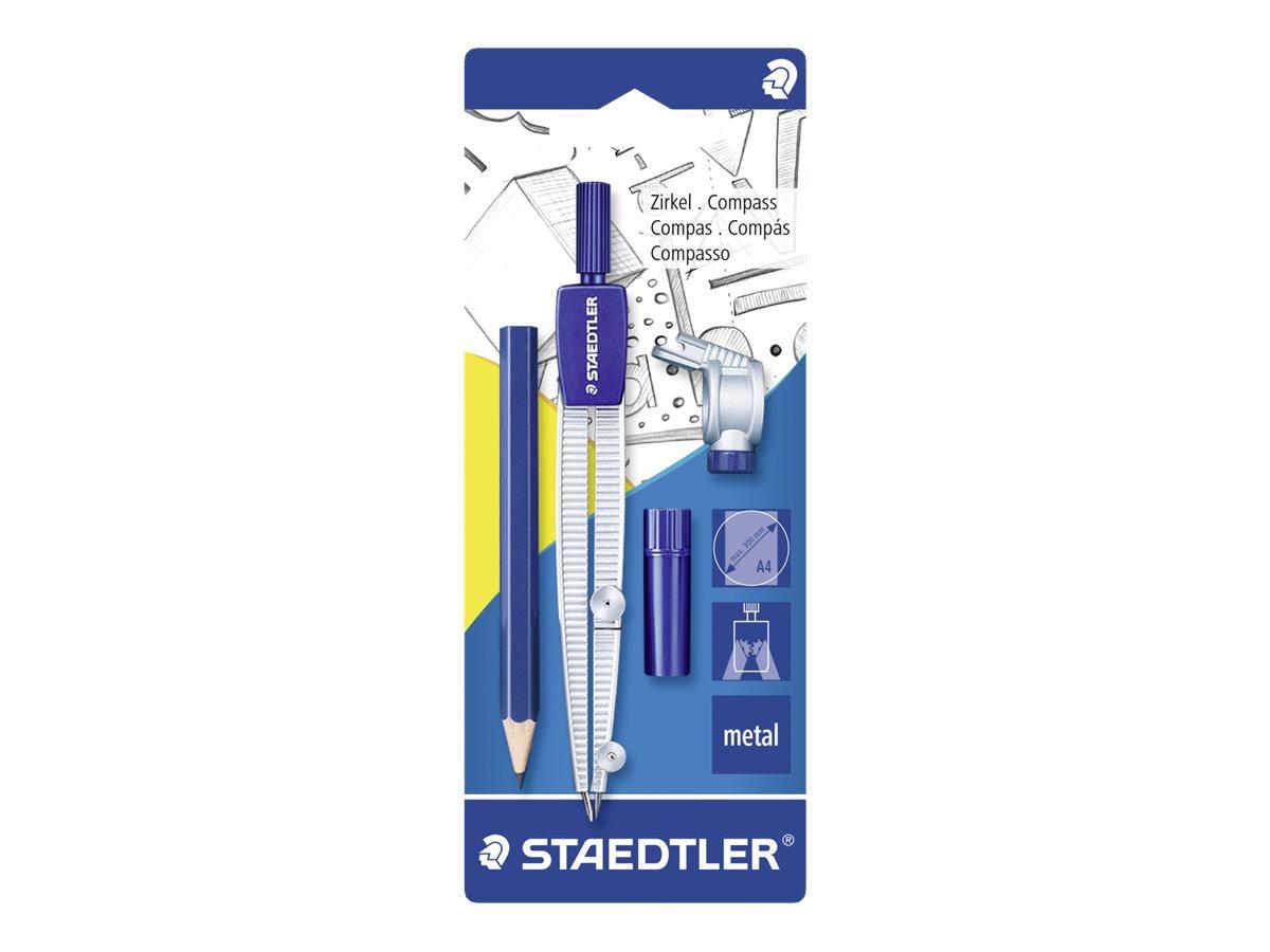 STAEDTLER - Compas avec crayon et attache-compas